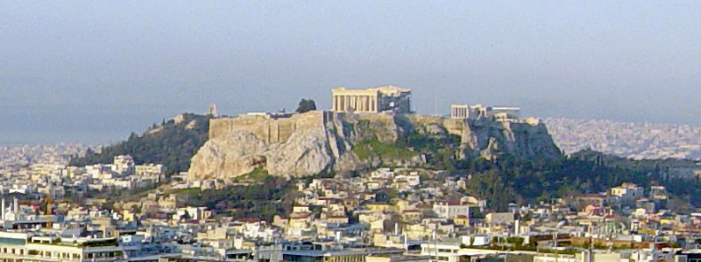 Athens and the Parthenon, Greece