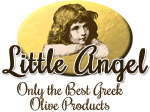 Little Angel Greek Olive Oil Products logo